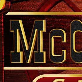 McCloud's Saloon logo